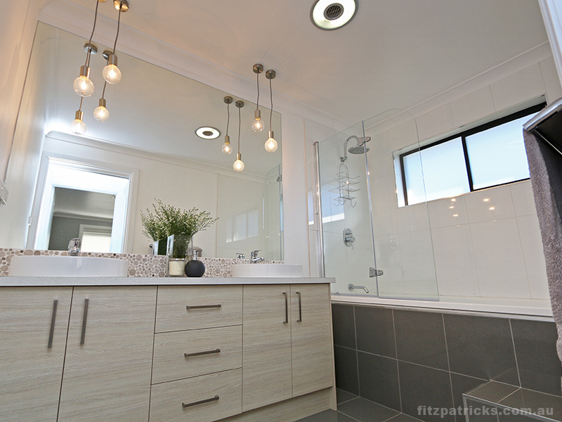 and spacious room these pendants also work well in bathrooms