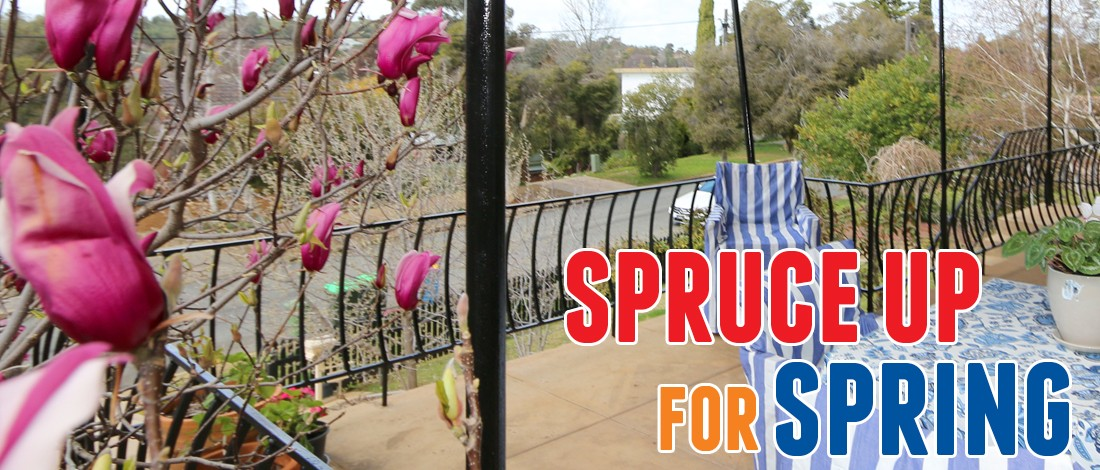 Spruce up for spring - Six ways to spruce up your balcony ...